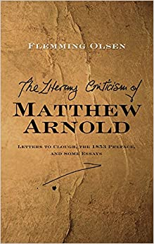 Criticism of Matthew Arnold: Letters to Clough, the 1853 Preface