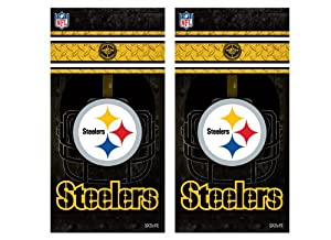 NFL Pittsburgh Steelers Cornhole Shield by Wild Sports