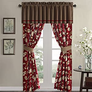 Harbor House Harbor House Woodland Window Panel, Rio Red