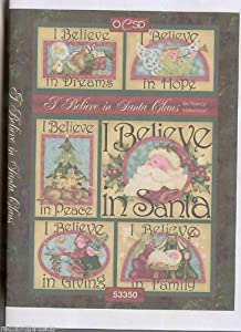 OESD I BELIEVE IN SANTA CLAUS Embroidery Design CD