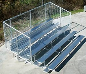 Trigon Sports Bl1521sd 15 Row 21 Ft Deluxe Standard Aluminum Bleacher by Trigon Sports