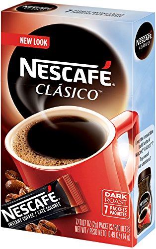 Nescafe Clasico Instant Coffee, 8 Count Single Serve, 12 Count