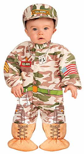 Forum Novelties Baby Boy's I Wannabee Soldier Infant Costume