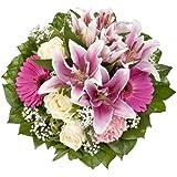 Blumenstrauß  Laura mit rosa Lilien