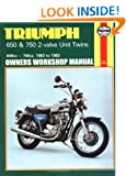 Triumph 650 and 750 2-Valve Twins Owners Workshop Manual, No. 122: '63-'83