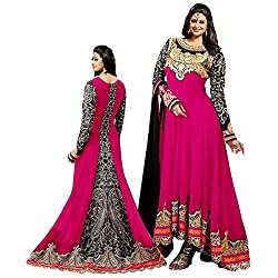 Shree Ganesh Women's Georgette Unstitched Dress Materials [D50]