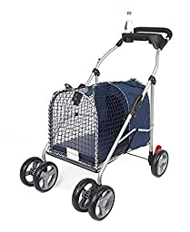 5th Ave Luxury Pet Stroller SUV Blue