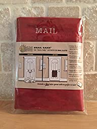 SNAIL SAKK: Mail Catcher For Mail Slots - RED (2nd Quality)