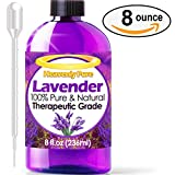 Heavenly Pure Therapeutic Grade Lavender Oil - 8 oz