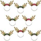 Santa's Reindeer Antler Headband Pack
