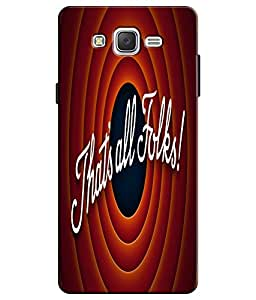 EU4IA That's All Folks Pattern MATTE FINISH 3D Back Cover Case For ON5 PRO - ...