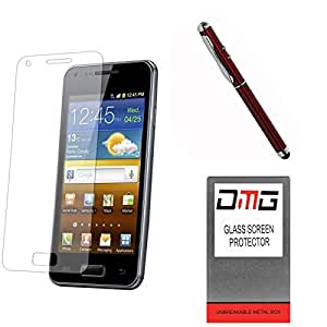 DMG Pack of 9 Tempered Glass for Note 3 Neo SM-N750 + 4in1 Laser Torch Stylus Pen
