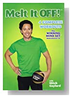 MELT IT OFF! with MITCH GAYLORD: 4 COMPLETE WORKOUTS plus WINNING MIND SET MOTIVATIONAL CD (DVD)