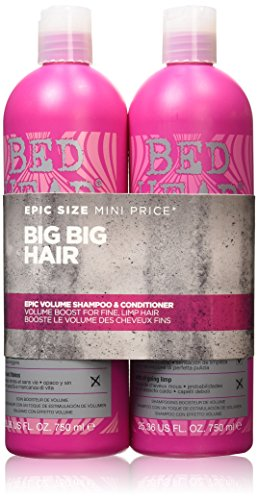 Tigi Bed Head Styleshots epico Volume Shampoo e Balsamo Tween Duo 2x750ml