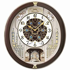 Amazon.com: Seiko Melodies in Motion Musical Wall Clock with 18