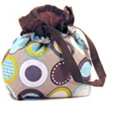 Thirty-One Cinch-It-Up Thermal Tote Minty Chip
