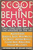 The Scoop and Behind the Screen (0060390301) by Christie, Agatha
