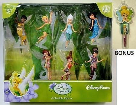 Disney Fairies Parks Figurine PVC Playset Play Set Cake Topper NEW by Disney