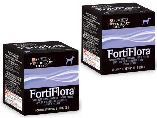 Purina Veterinary Diets Fortiflora Canine, 30 Sachets Per Box (2 Pack)
