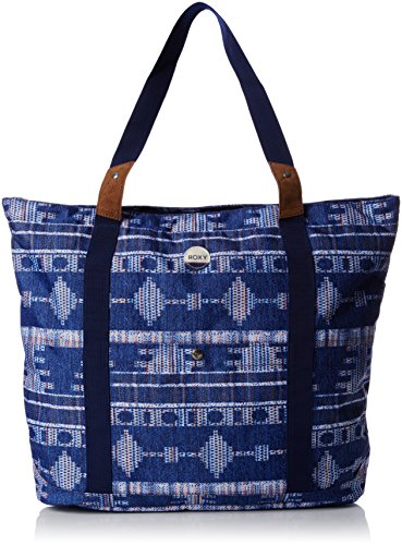 Roxy Other Side, Borsa tote donna , Blu (Bleu (Bsq7)), Taille Unique