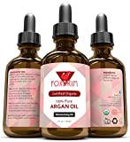"BEST ORGANIC Argan Oil FOR Hair, Face, Skin and Nails - 100% Pure ECOCERT & USDA Certified Organic Argan Oil - Unbelievable Natural Moisture - #1 Premium Moisturizing Moroccan Oil - Acclaimed as ""Natures Liquid Gold"" - Triple Extra Virgin - Highest Quality Available by the Most Stringent of Standards - Certified Organic Argania Spinosa - Amazing Quality Guarantee - Works or Your Money Back!"