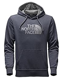 The North Face Men\'s Half Dome Hoodie Cosmic Bule Heather/TNF White Small