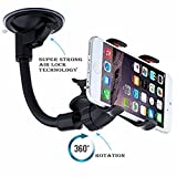 #6: Meya Happy Car Mobile Holder Soft Tube Arm Stand With 360 Degree Rotation For Car Dashboard
