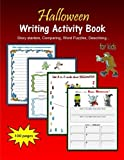 Halloween Writing Activity Book for kids