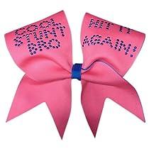 Cool Stunt Bro- Neon Pink Cheer Bow