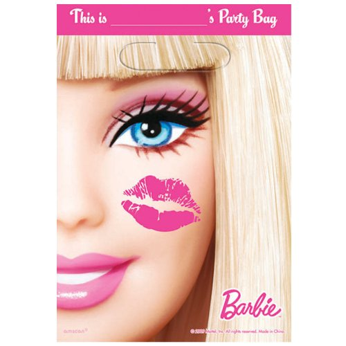 Barbie All Doll'd Up Treat Bags - 1