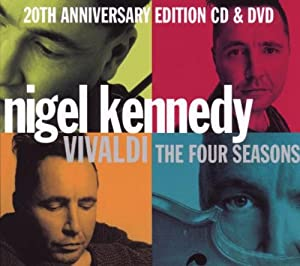 Vivaldi - The Four Seasons Anniversary Edition Cd Dvd from EMI Classics