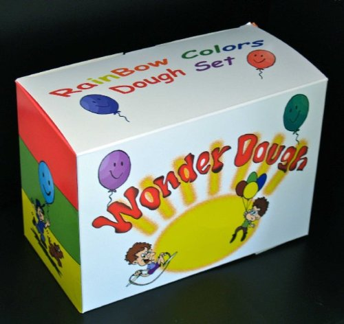 Gluten Free Wonder Dough - Rainbow Colors Set, Unscented by GlutenFreePalace.com