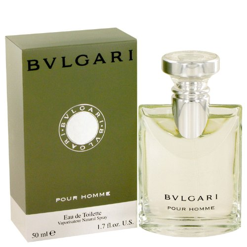 Bvlgari (Bulgari) By Bvlgari Eau De Toilette Spray 1.7 Oz / 50 Ml For Men + Bowling Green By Geoffrey Beene After Shave Lotion (Unboxed) 2 Oz For Men