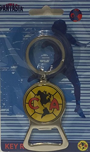 CLUB AMERICA SOCCER KEYCHAIN, Bottle Opener, Official Merchandise Mexico (Club America Bottle Opener compare prices)