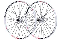 Vuelta MTB All Mountain Wheel Set (White, 26-Inch)