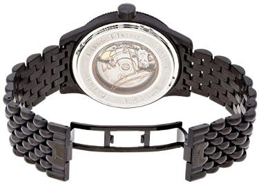 Tutima Grand Classic Automatic PVD 43mm Watch - Black Dial, PVD Bracelet 628-12