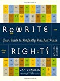 img - for By Jan Venolia - Rewrite Right! : Your Guide to Perfectly Polished Prose: 2nd Edit (Revised) (2000-09-16) [Paperback] book / textbook / text book