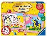 Ravensburger 27723 - Süsse Ponys - Malen nach Zahlen Junior, 30 x 24 cm (2 Motive) hergestellt von Ravensburger