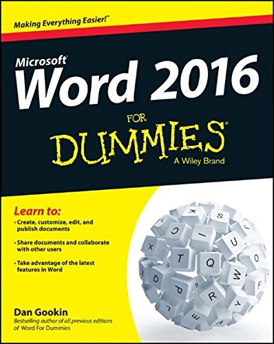 Download Word 2016 For Dummies (Word for Dummies)
