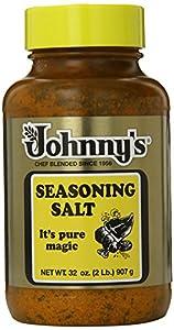 Johnny's Seasoning Salt, 32-Ounce Bottles (Pack of 3)