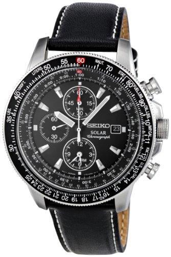 Seiko Men's Solar Chronograph Watch SSC009P3
