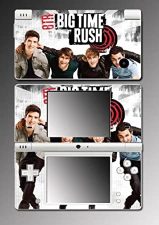 Big Time Rush BTR Carlos James Game Vinyl Decal Cover Skin Protector #3 for Nintendo DSi