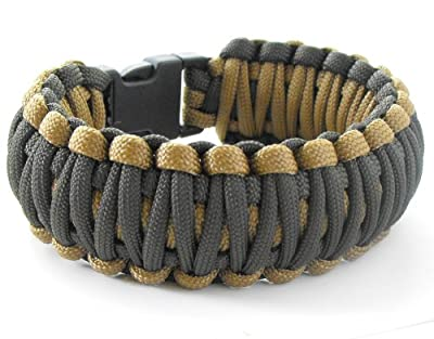 King Cobra Paracord Survival Bracelet (550 lb tested cord)