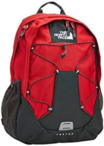 The North Face Jester Backpack - TNF Red/Asphalt Grey, One Size