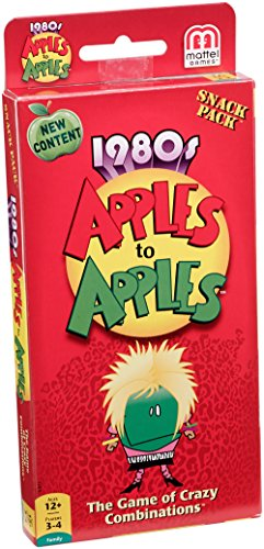 Apples to Apples 1980s Snack Pack Expansion Pack
