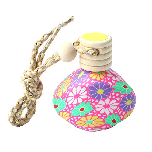 Car Home Hanging Empty Refillable Perfume Fragrance Bottle Air Freshener(Color Random) (Car Air Freshener Refillable compare prices)