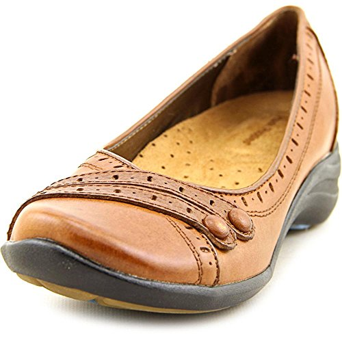 Hush Puppies Burlesque, Ballerine donna Beige Tenné 39