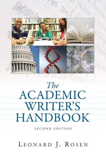 Academic Writer's Handbook, The (with MyCompLab NEW with Pearson eText Student Access Code Card) (2nd Edition)
