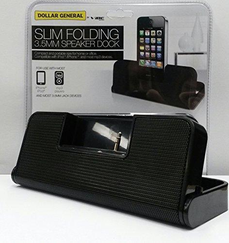 VIBE Slim Folding Speaker Dock for most Iphones / Ipods / MP3 Players док станция sony dk28 tv dock