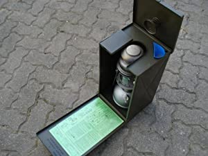 BW Petroleumlampe Petromax mit Transportbox guter Zustand  Kritiken und weitere Infos